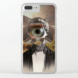 Mr. Insomnia Clear iPhone Case