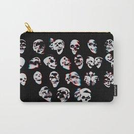 3D Skulls Carry-All Pouch