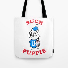 Such Puppie Tote Bag