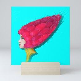 Red fairy Mini Art Print