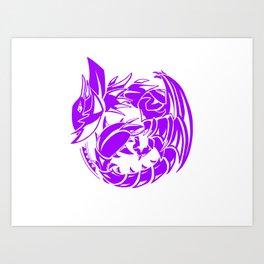 Yian Garuga Sigil Art Print