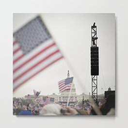 2013 Inauguration: Washington, DC. Metal Print