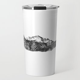 Pike's Peak Colorado Mountain Art Travel Mug