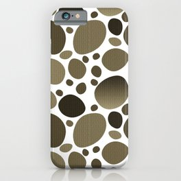 Polka dot retro  iPhone Case