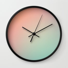 SUNDAY / Plain Soft Mood Color Blends / iPhone Case Wall Clock