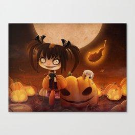 Halloween Hysteria Canvas Print