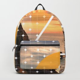 Californian Sunset - Graphic Backpack