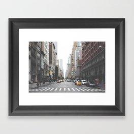Urban Adventure NYC Framed Art Print