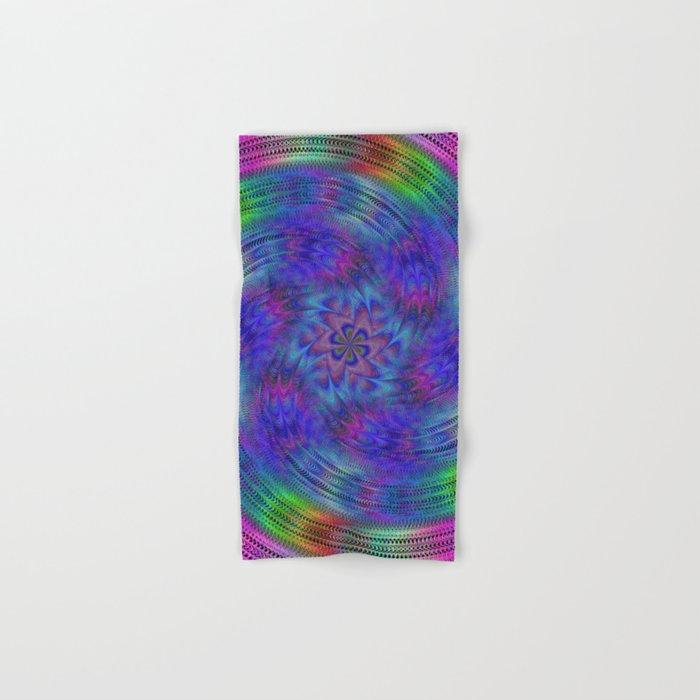Liquid rainbow Hand & Bath Towel