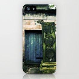 In Old Calton Cemetery iPhone Case