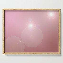 Pinkish Pastel Serving Tray