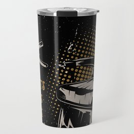 Gentlemen's Barber Shop LA Travel Mug