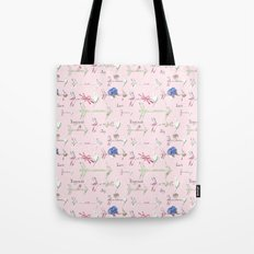 Happiness is a bouquet of shabby chic Tote Bag