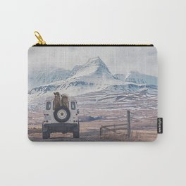 NEVER STOP EXPLORING ICELAND Carry-All Pouch