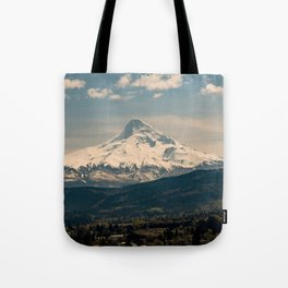 Mountain Valley Pacific Northwest - Nature Photography Tote Bag