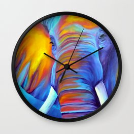 Close Encounter Wall Clock