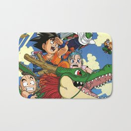 Kids and the Dragon Bath Mat
