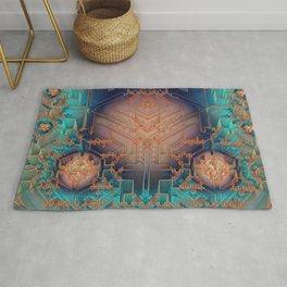 Ayahuasca - Geometric Design - Fractal - Manafold Art Rug