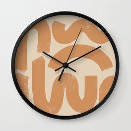 squig Wall Clock