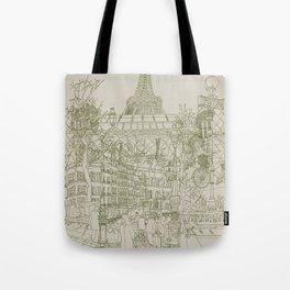 Paris! Musty Tote Bag