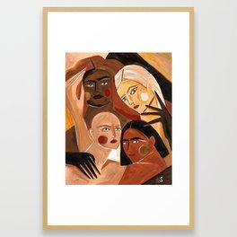 For the lions Framed Art Print