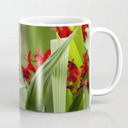 Rufous Hummingbird Feeding, No. 3 Coffee Mug