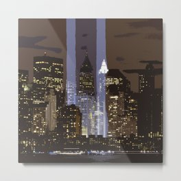 New York 022 by JAMFoto Metal Print