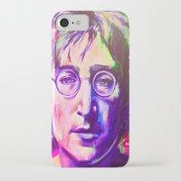 john snow iPhone & iPod Cases featuring John by Alejandro Castanon