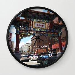 Philadelphia Chinatown Arch Wall Clock