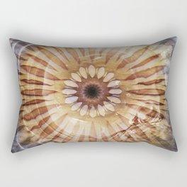 Underwater Sea Star Mandala Rectangular Pillow