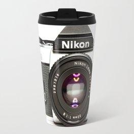 Nikon Camera Style Travel Mug