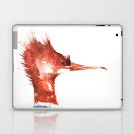 Merganser Portrait Laptop & iPad Skin