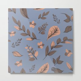 Flower Design Series 13 Metal Print