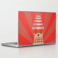 dalek Laptop & iPad Skins featuring Dalek Propoganda by ElectricShotgun