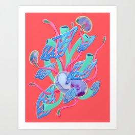 Alien Organisms 19 Art Print