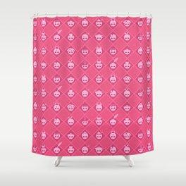 The Nik-Nak Bros. Pinkerton Shower Curtain
