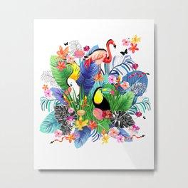 Tropical Paradise 001 Metal Print