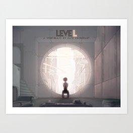 leveL - A White Sphere of Air Art Print