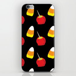 Candy Corn and Candy Apples iPhone Skin