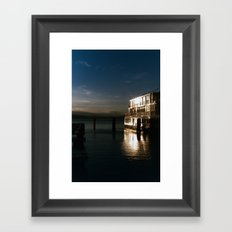 film burlington reflection Framed Art Print