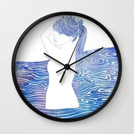 Nereid XXXVIII Wall Clock