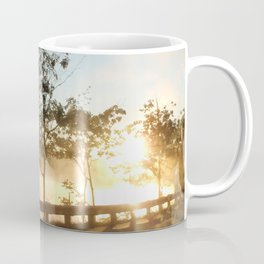 Sunrise over the lake Coffee Mug