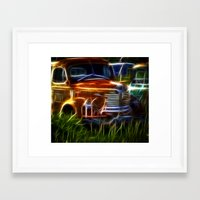 truck Framed Art Prints featuring Truck by Phil Flaig