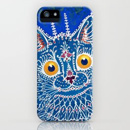 A Cat In Gothic Style - Digital Remastered Edition iPhone Case