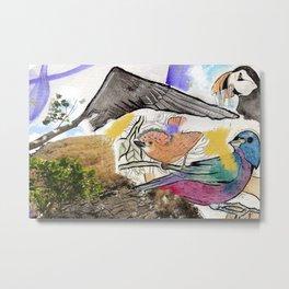 Aves Metal Print
