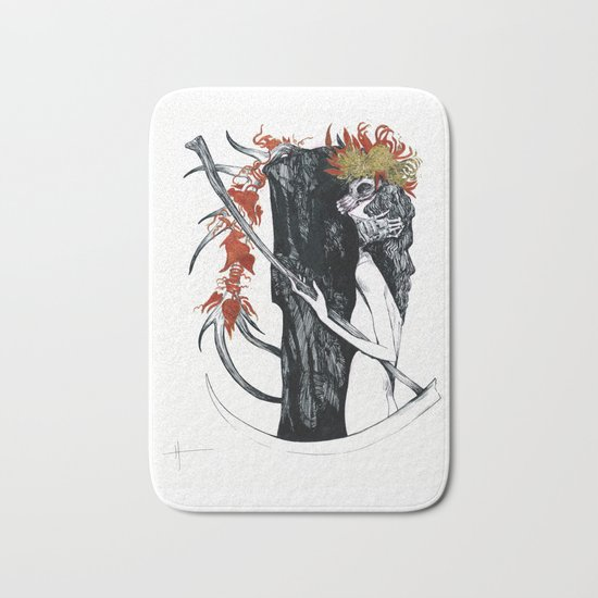 Death & their maiden Bath Mat