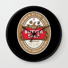 Butter Beer - Rosmertas Original Recipe Wall Clock