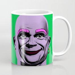 Mr Clean Pop Art on Blue Background Coffee Mug