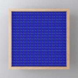 Shark Waves Framed Mini Art Print