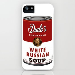 Lebowski Soup iPhone Case
